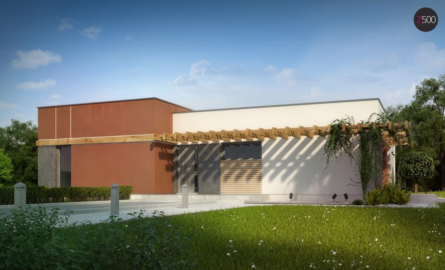 Проект дома Zx101 иллюстрация 3