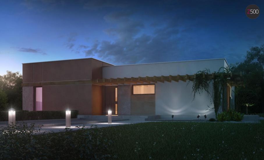 Проект дома Zx101 иллюстрация 4