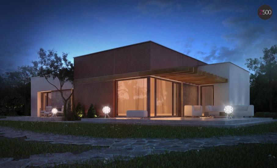 Проект дома Zx101 иллюстрация 5