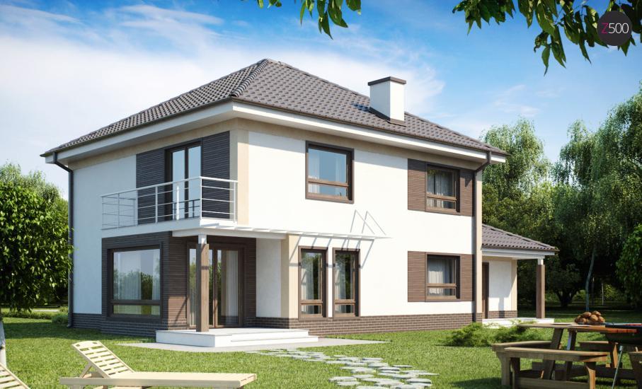 Проект дома Zx12 иллюстрация 1