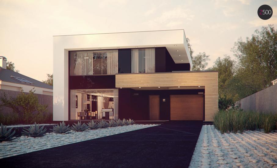 Проект дома Zx123 иллюстрация 1