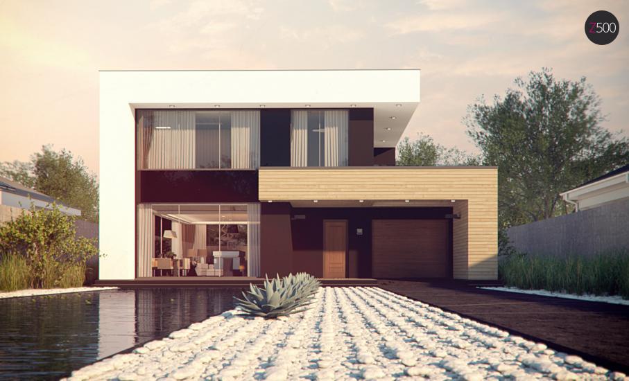 Проект дома Zx123 иллюстрация 2