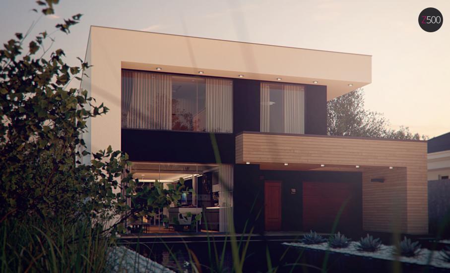 Проект дома Zx123 иллюстрация 3