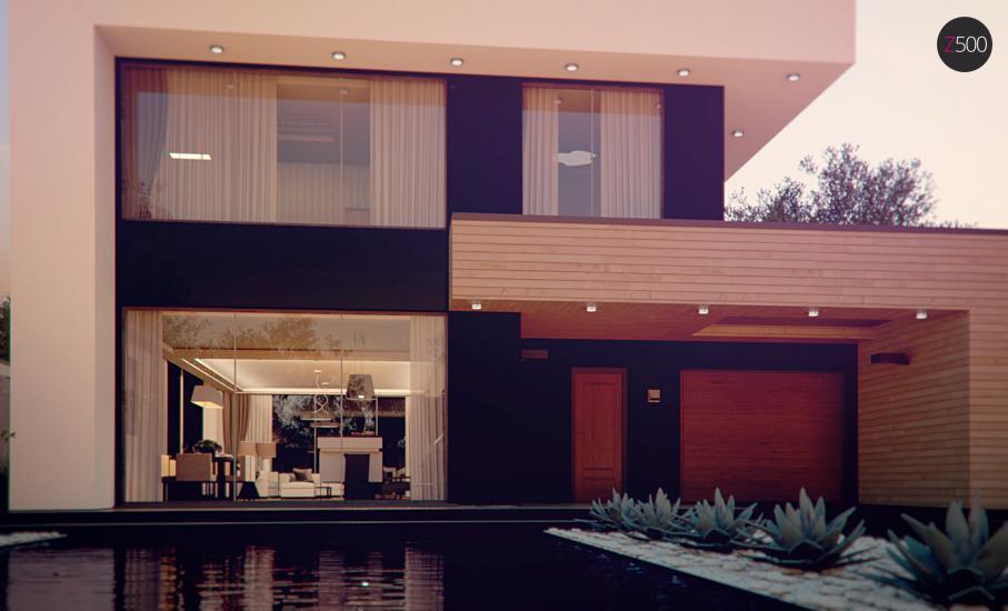 Проект дома Zx123 иллюстрация 4