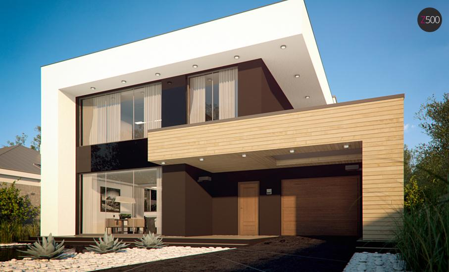 Проект дома Zx123 иллюстрация 5