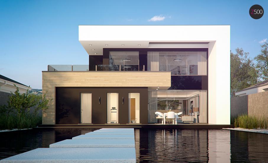 Проект дома Zx123 иллюстрация 6