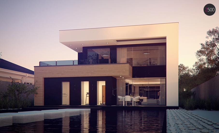 Проект дома Zx123 иллюстрация 7