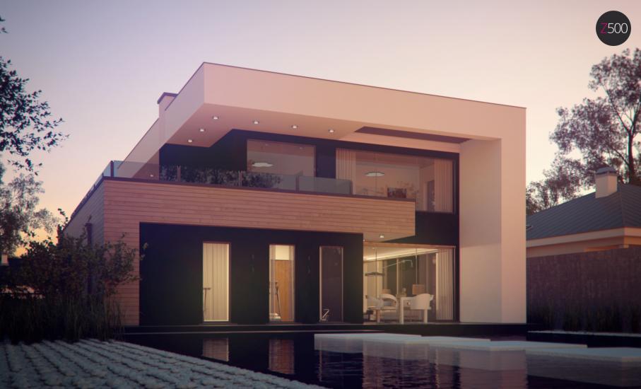 Проект дома Zx123 иллюстрация 8