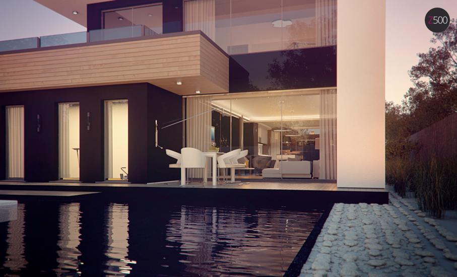 Проект дома Zx123 иллюстрация 9