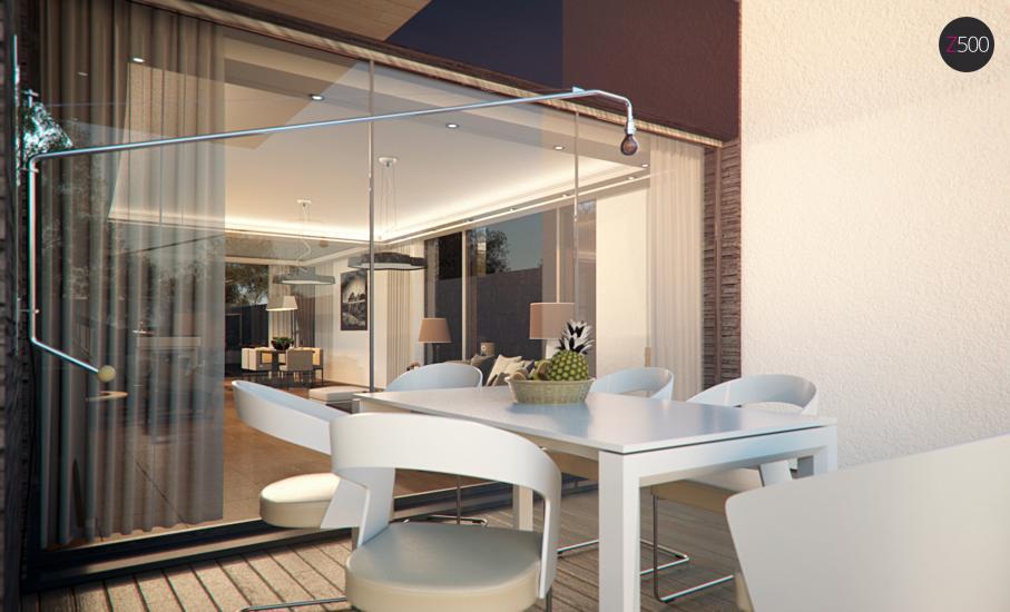 Проект дома Zx123 иллюстрация 10