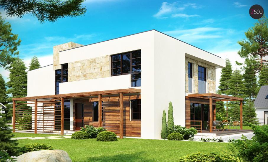 Проект дома Zx14 иллюстрация 2