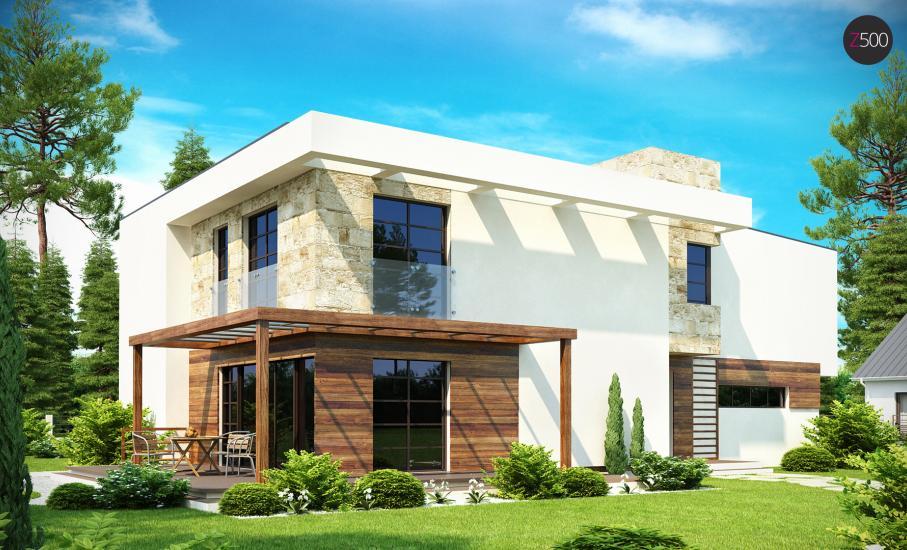 Проект дома Zx14 иллюстрация 3