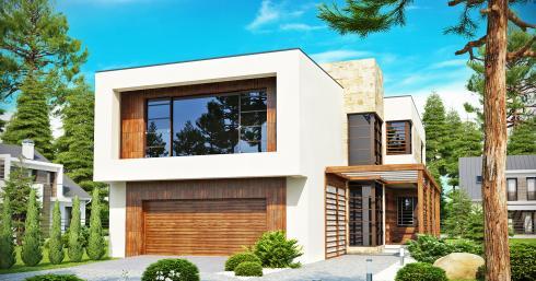 Проект дома Zx14 иллюстрация 1
