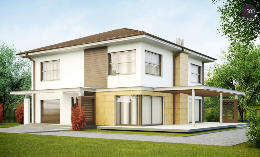 Проект дома Zx2 иллюстрация 1