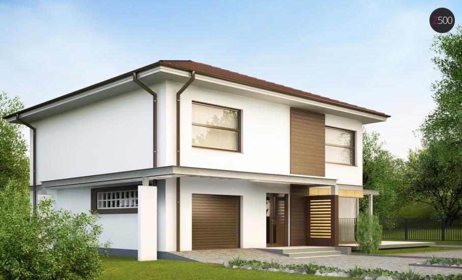 Проект дома Zx2 иллюстрация 2