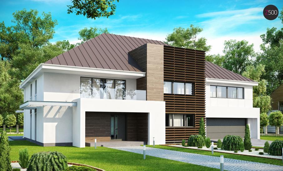 Проект дома Zx20 иллюстрация 1