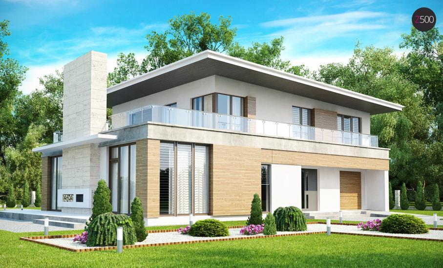 Проект дома Zx21 иллюстрация 1