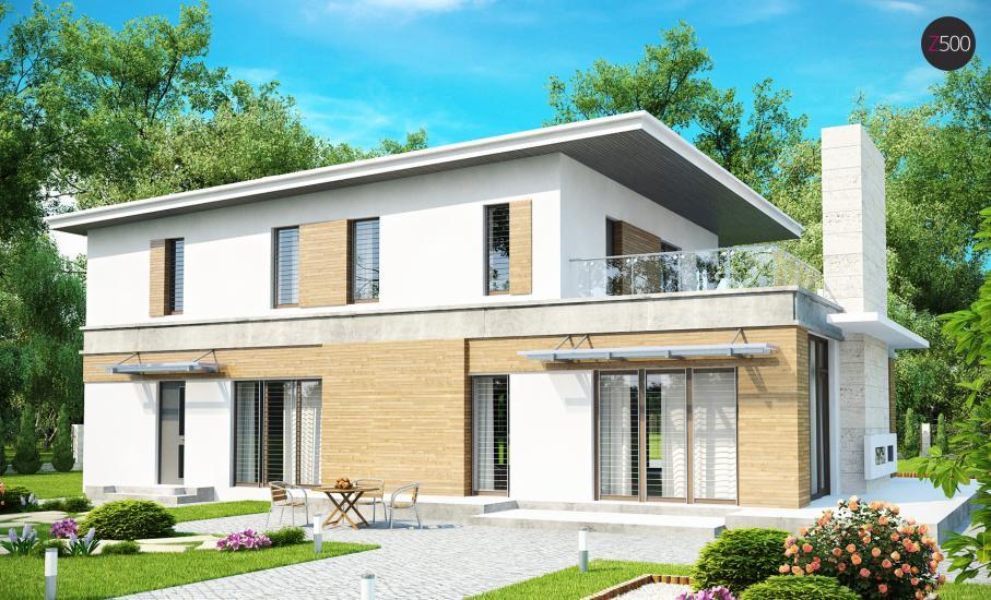 Проект дома Zx21 иллюстрация 2