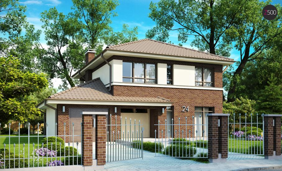 Проект дома Zx24 иллюстрация 1