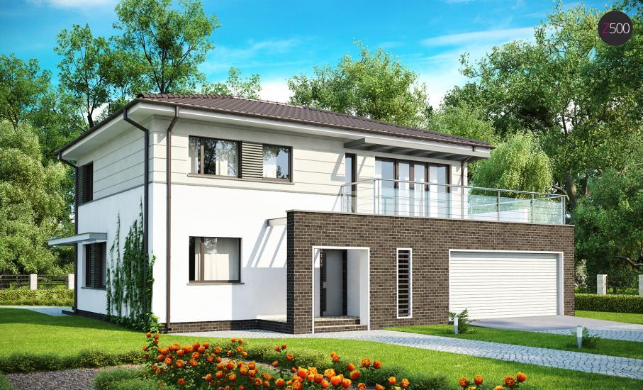 Проект дома Zx26 иллюстрация 1