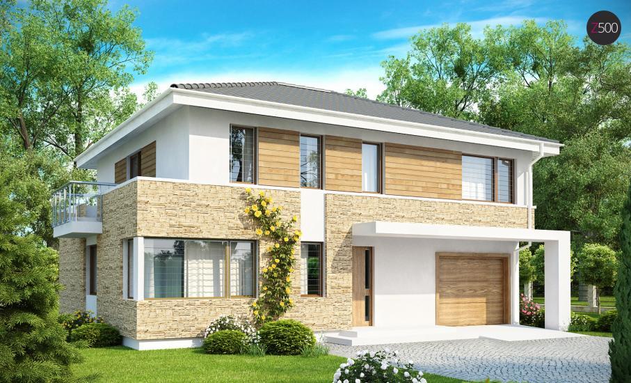 Проект дома Zx29 иллюстрация 1