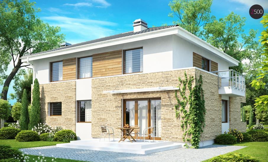 Проект дома Zx29 иллюстрация 2