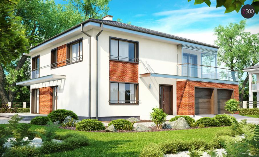 Проект дома Zx30 иллюстрация 1