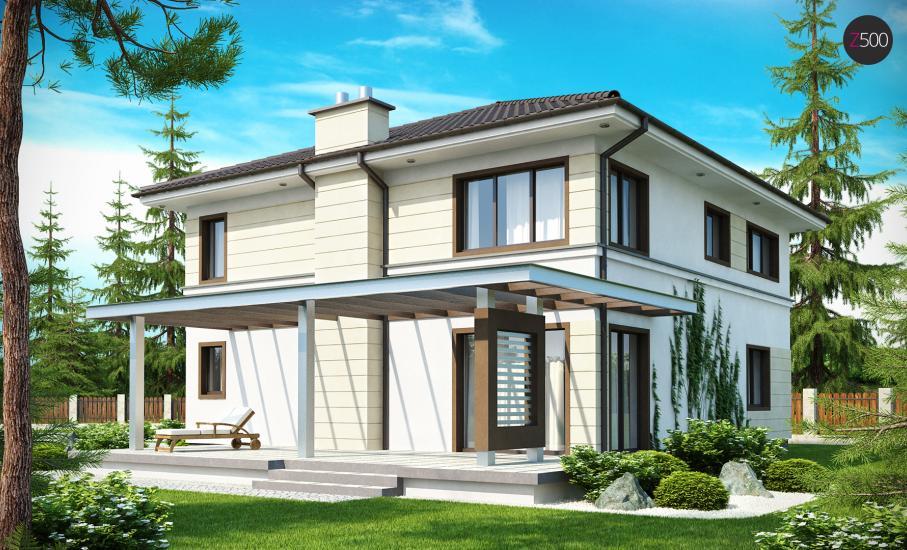 Проект дома Zx33 иллюстрация 2