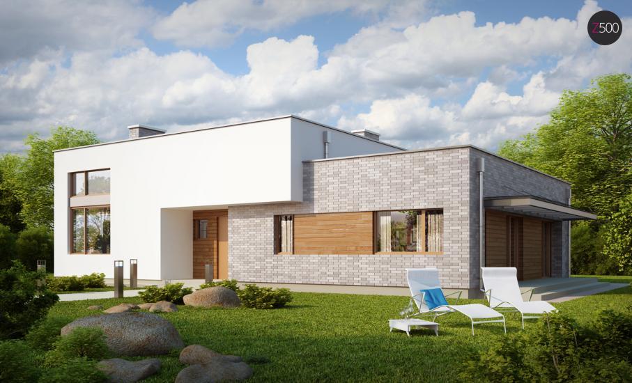 Проект дома Zx34 иллюстрация 1