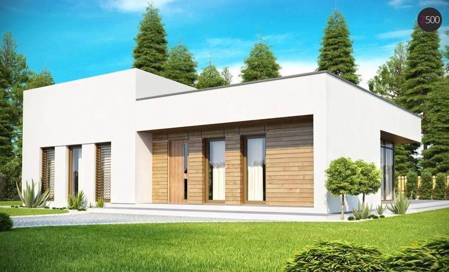 Проект дома Zx35 иллюстрация 2