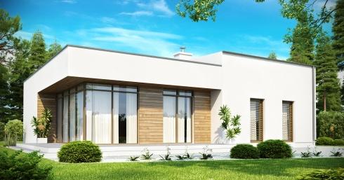 Проект дома Zx35 иллюстрация 1