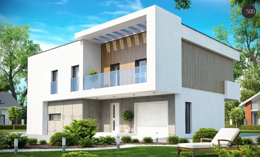 Проект дома Zx39 иллюстрация 1