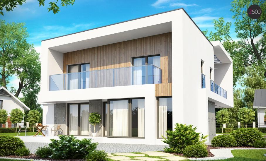 Проект дома Zx39 иллюстрация 2