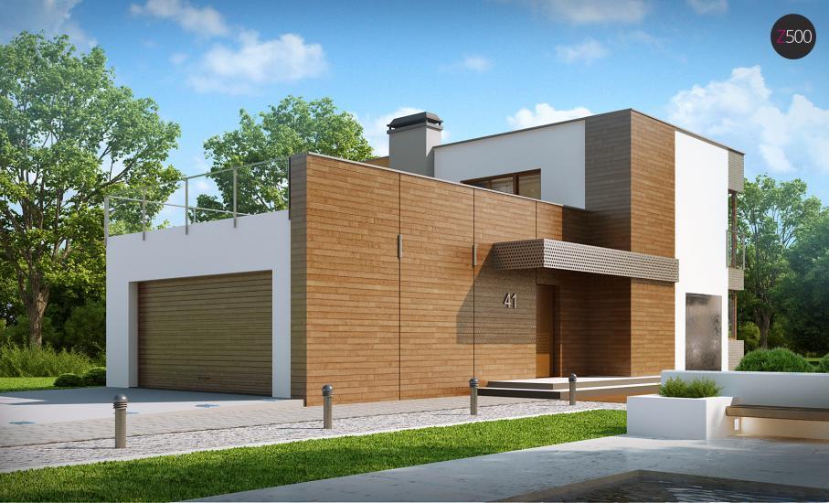 Проект дома Zx41 иллюстрация 1