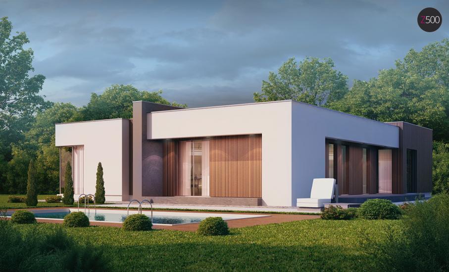 Проект дома Zx49 иллюстрация 2