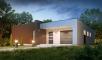 Проект дома Zx49 иллюстрация 1