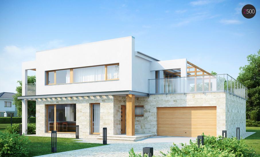 Проект дома Zx5 иллюстрация 1