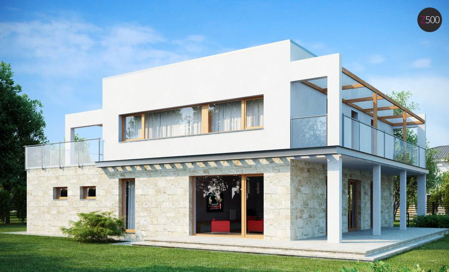 Проект дома Zx5 иллюстрация 2