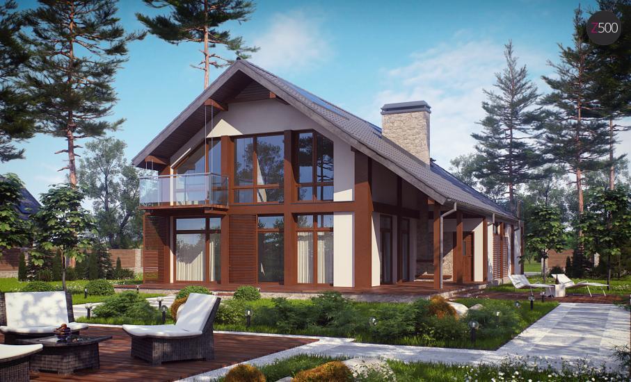 Проект дома Zx50 иллюстрация 2
