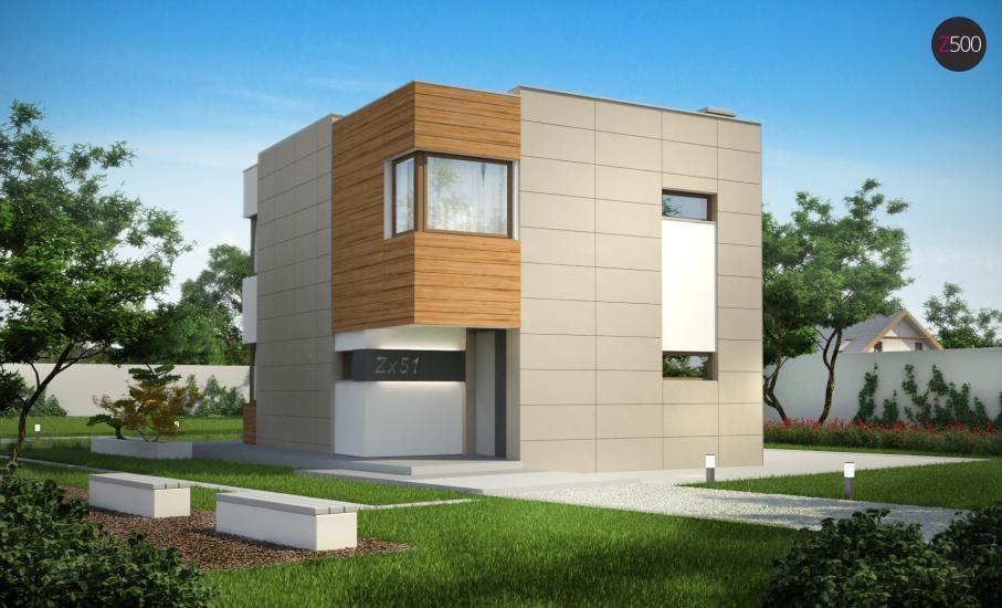 Проект дома Zx51 иллюстрация 1