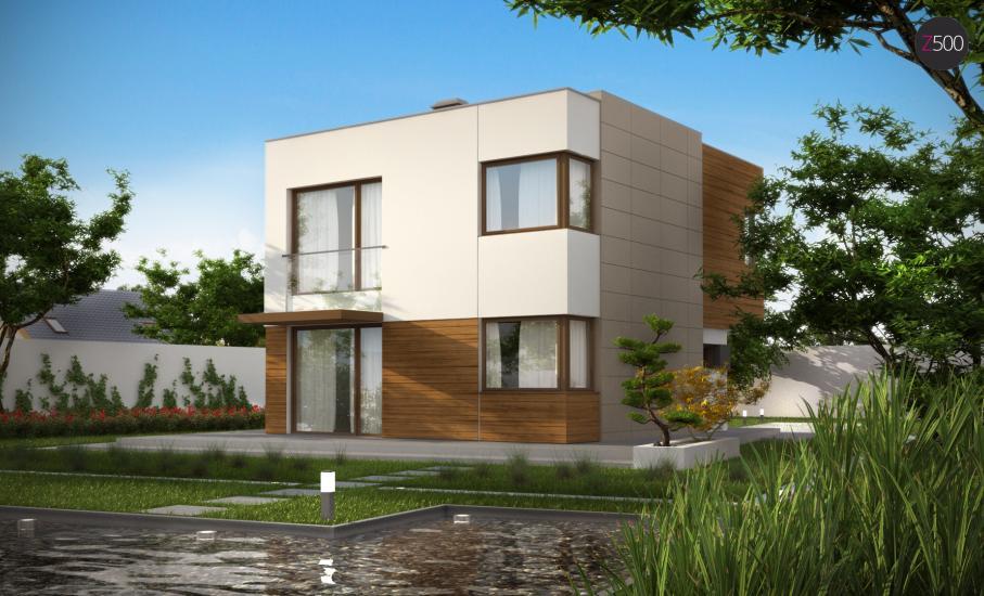 Проект дома Zx51 иллюстрация 2