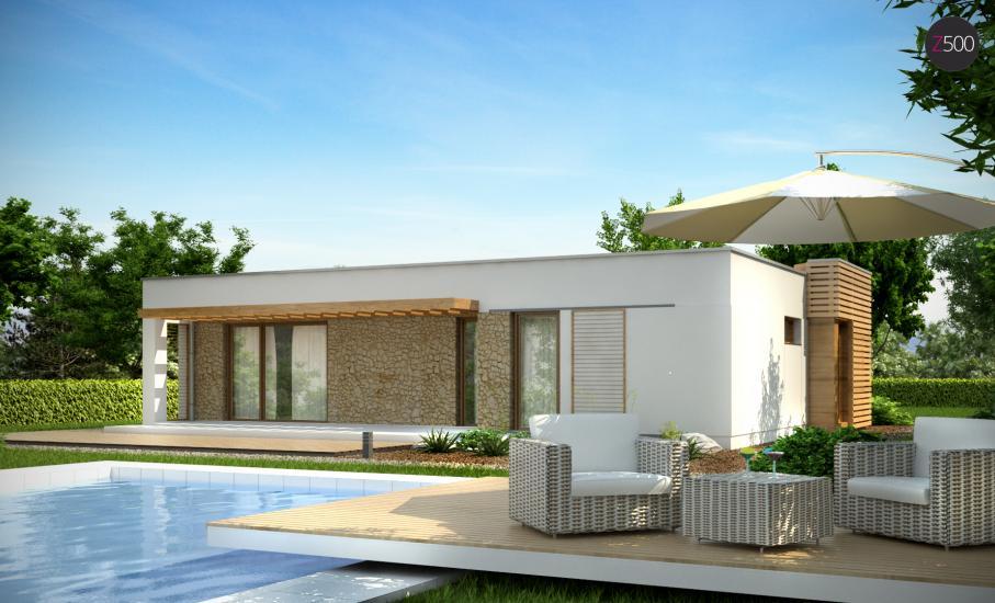 Проект дома Zx53 иллюстрация 2