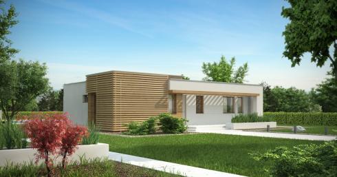 Проект дома Zx53 иллюстрация 1