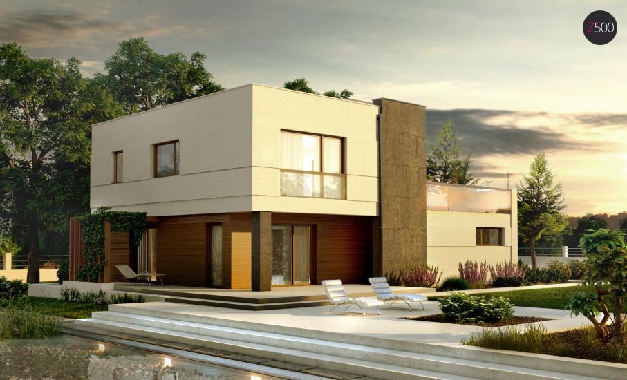 Проект дома Zx54 иллюстрация 1