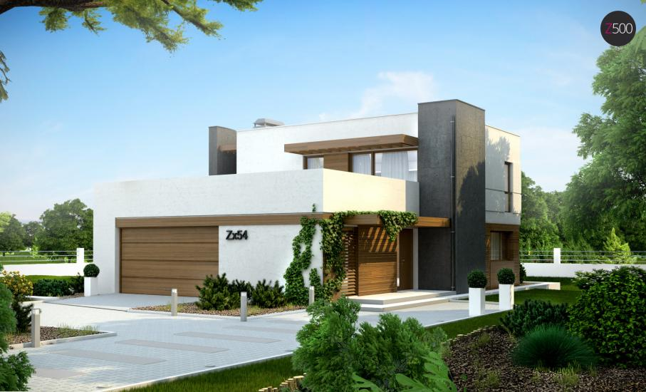 Проект дома Zx54 иллюстрация 2