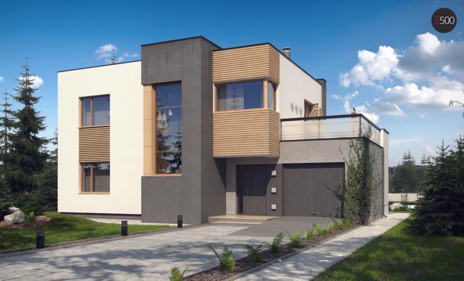 Проект дома Zx59 иллюстрация 1