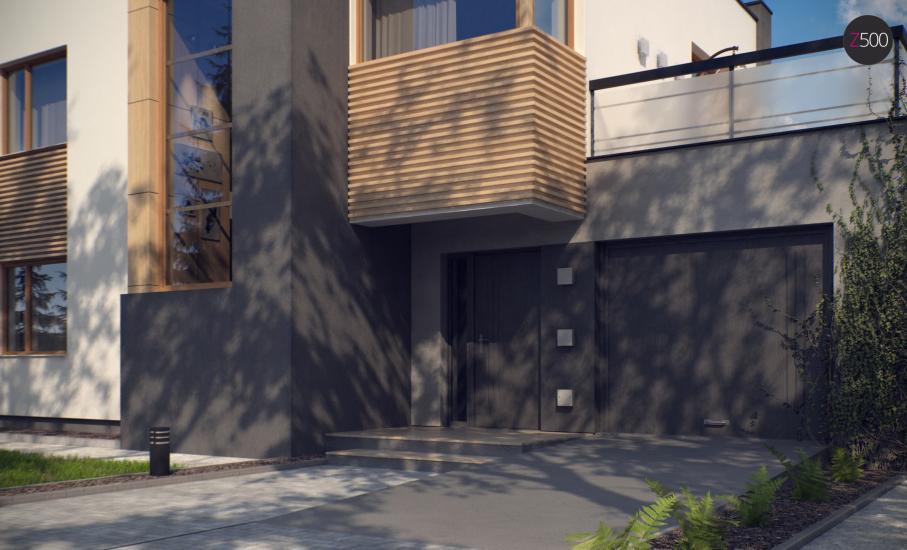 Проект дома Zx59 иллюстрация 2
