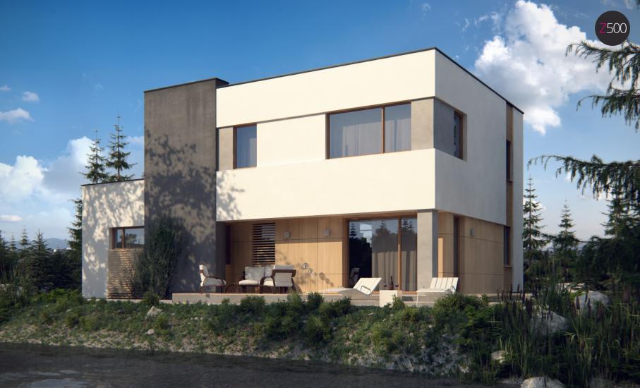 Проект дома Zx59 иллюстрация 3