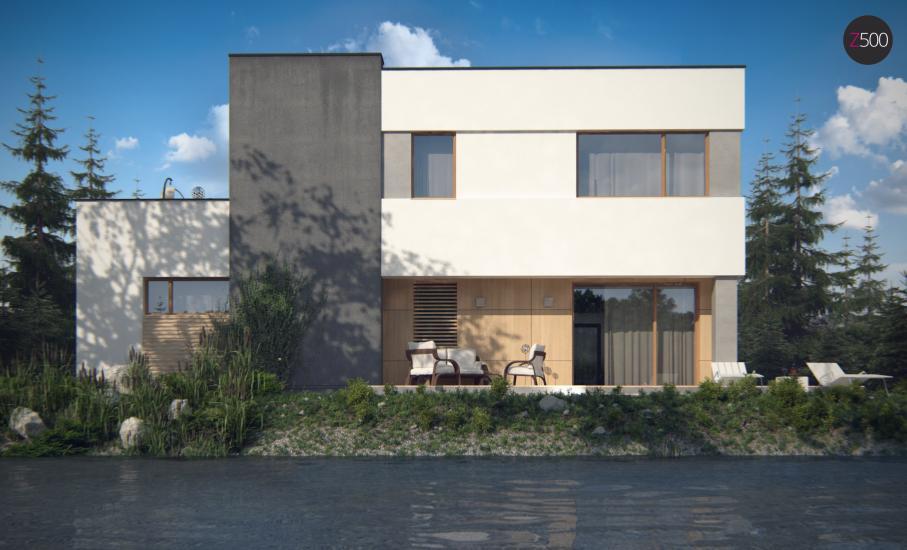 Проект дома Zx59 иллюстрация 4