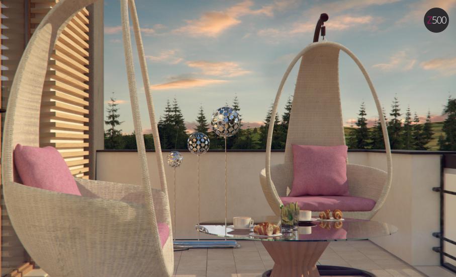 Проект дома Zx59 иллюстрация 5
